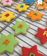 biscotti stella pasta di zucchero