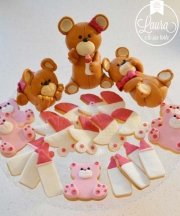 biscotti battesimo orsetti