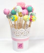 cake pops fiori
