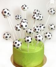 cake pops calcio