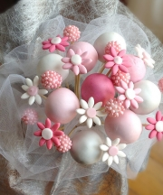 cake pops bouquet