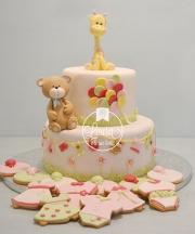 torta orsetto giraffa