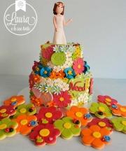 torta wedding fiori